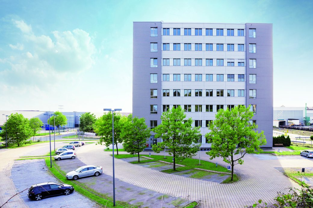 Office building, Mühlheim